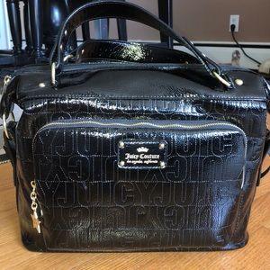 Black Juicy logo briefcase NWT